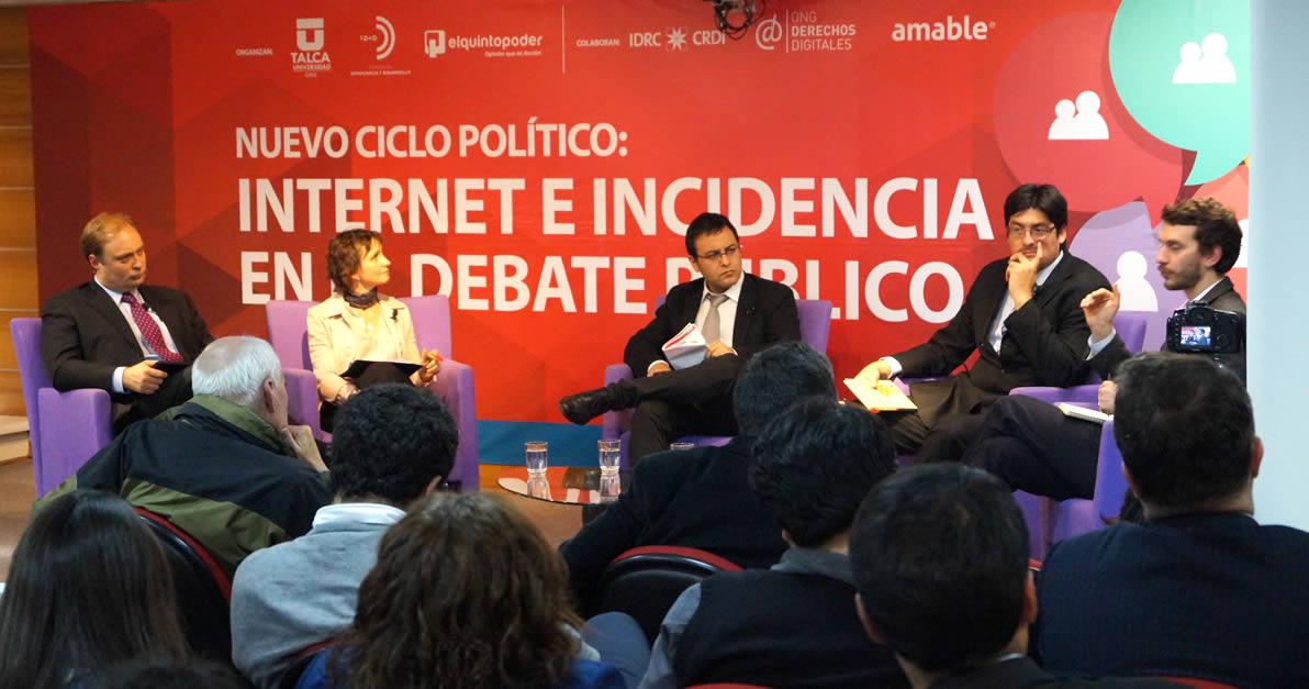 Nelson Rodríguez-Peña en foro Internet e Incidencia de Fundación Democracia y Desarrollo